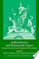 Judicial Review and Bureaucratic Impact