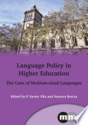 Language Policy in Higher Education
