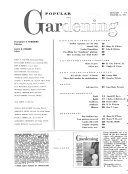 Popular Gardening and Living Outdoors