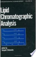 Lipid Chromatographic Analysis Book PDF