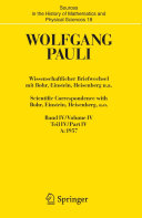 Wissenschaftlicher Briefwechsel mit Bohr  Einstein  Heisenberg u a    Scientific Correspondence with Bohr  Einstein  Heisenberg a o