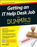 Getting An It Help Desk Job For Dummies