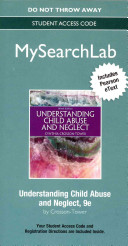 Mysearchlab with Pearson Etext    Standalone Access Card    For Understanding Child Abuse and Neglect