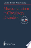 Microcirculation in Circulatory Disorders Book
