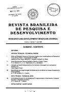 Research and development Brazilian journal ebook