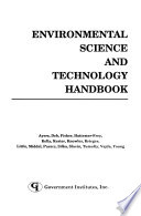 Environmental Science and Technology Handbook