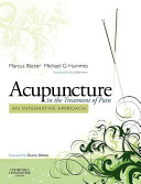 Acupuncture In The Treatment Of Pain Book PDF