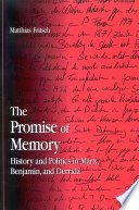Promise Of Memory The Book PDF