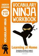 Vocabulary Ninja Workbook for Ages 9 10