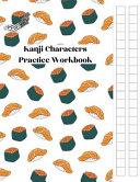 Japanese Kanji Characters Practice Workbook