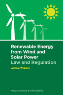 Renewable Energy from Wind and Solar Power  Law and Regulation