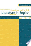 Reader S Guide To Literature In English Book