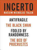 Incerto 4-Book Bundle: Fooled by Randomness The Black Swan The Bed ...