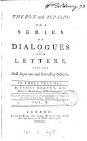Theron and Aspasio; or, A series of dialogues and letters upon the most important and interesting subjects