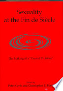 Sexuality at the Fin de Si  cle