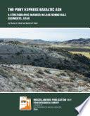 The Pony Express basaltic ash  a stratigraphic marker in Lake Bonneville sediments  Utah Book