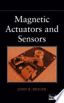 Magnetic Actuators And Sensors Book PDF