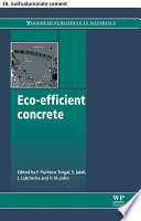 Eco efficient concrete