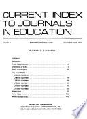 CIJE.  : Semiannual cumulation , Volume 10,Parte 1
