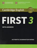 Cambridge English First 3 Student s Book with Answers