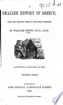 A Smaller History of Greece ... Fifteenth edition