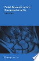 Pocket Reference to Early Rheumatoid Arthritis