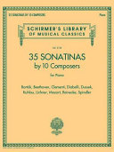 35 Sonatinas by 10 Composers for Piano