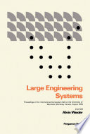 Large Engineering Systems