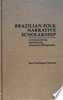 Brazilian Folk Narrative Scholarship Book PDF