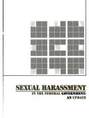 Sexual Harassment in the Federal Government