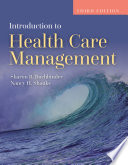 Introduction to Health Care Management Book