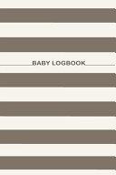 Baby Logbook Note Book Breastfeeding Journal