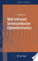 Mid infrared Semiconductor Optoelectronics