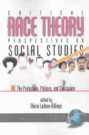 Critical Race Theory Perspectives on the Social Studies Book