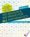 We Reason   We Prove for ALL Mathematics Book