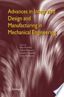 Advances In Integrated Design And Manufacturing In Mechanical Engineering Book PDF