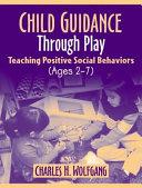 Child Guidance Through Play Book