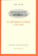 La musique à entre deux révolutions (1789-1830)
