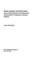 Ethnic Identity and Motivation