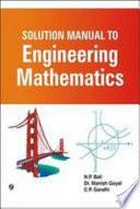 Solution Manual to Engineering Mathematics