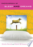 Encyclopedia of Sleep and Dreams Book