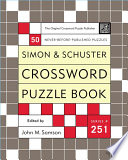 Simon and Schuster Crossword Puzzle Book #251