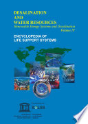 RENEWABLE ENERGY SYSTEMS AND DESALINATION - Volume IV