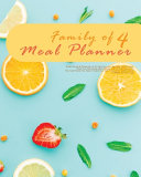 Family Of 4 Meal Planner Book