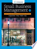 """""""Small Business Management: Launching & Growing Entrepreneurial Ventures"""" by Justin G. Longenecker, J. William Petty, Leslie E. Palich, Frank Hoy"""