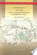 Arabian Seas 1700 1763