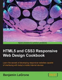 Html5 and Css3 Responsive Web Design Cookbook