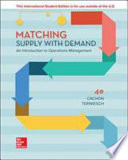 Matching Supply W/ Demand