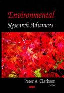 Environmental Research Advances