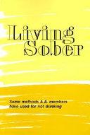 Living Sober Trade Edition Book